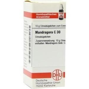 MANDRAGORA C 30 Globuli