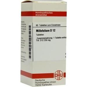 MILLEFOLIUM D 12 Tabletten