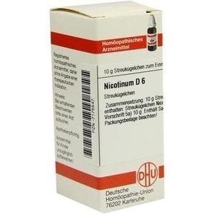 NICOTINUM D 6 Globuli