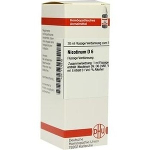 NICOTINUM D 6 Dilution