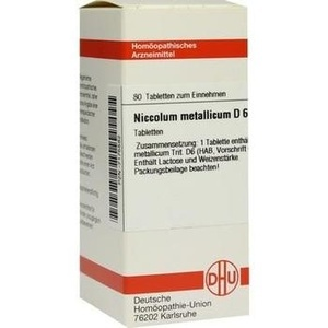 NICCOLUM METALLICUM D 6 Tabletten