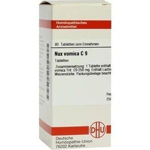 NUX VOMICA C 9 Tabletten