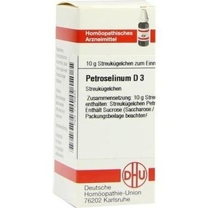 PETROSELINUM D 3 Globuli