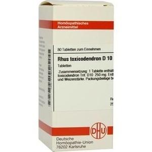 Rhus Toxicodendron D10 Tabletten