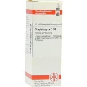 STAPHISAGRIA C 30 Dilution