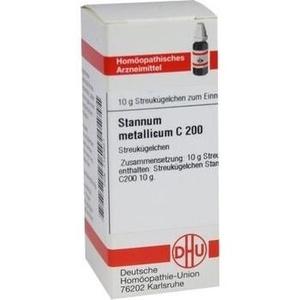 STANNUM METALLICUM C 200 Globuli