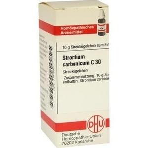 STRONTIUM CARBONICUM C 30 Globuli