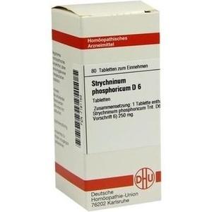 STRYCHNINUM PHOSPHORICUM D 6 Tabletten