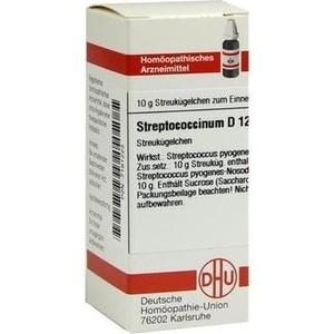 STREPTOCOCCINUM D 12 Globuli
