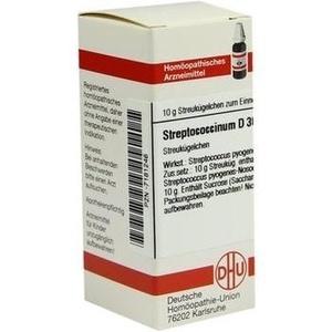 STREPTOCOCCINUM D 30 Globuli