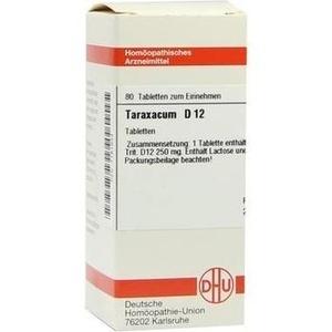 TARAXACUM D 12 Tabletten