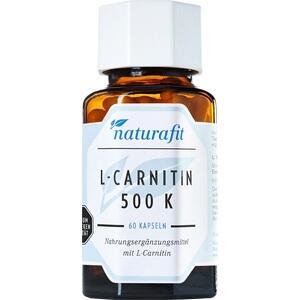 NATURAFIT L-Carnitin 500 K Kapseln