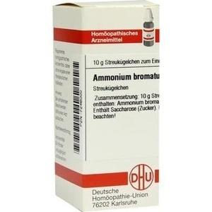 AMMONIUM BROMATUM C 30 Globuli