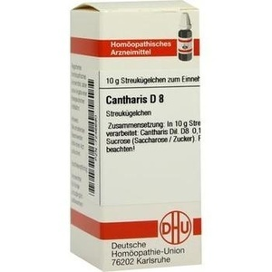 CANTHARIS D 8 Globuli