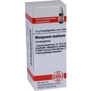 MANGANUM ACETICUM D 12 Globuli