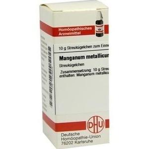 MANGANUM METALLICUM D 12 Globuli
