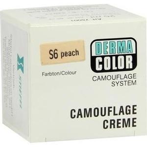 DERMACOLOR Camouflage Creme S 6 peach