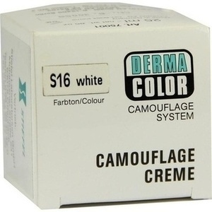 DERMACOLOR Camouflage Creme S 16 white