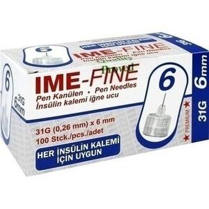 IME-fine Universal Pen Kanüle 31 G 6 mm