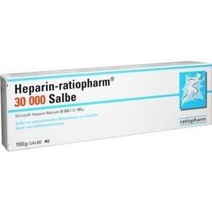 HEPARIN-RATIOPHARM 30.000 Salbe
