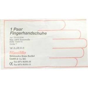 Strickmoden Bruno Barthel GmbH & Co. KG HANDSCHUHE Baumwolle Gr.7 Überlänge 2 St