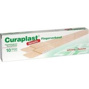 CURAPLAST Fingerverb.sensitiv 2x18 cm
