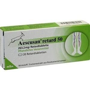 AESCUSAN retard 50 Tabletten