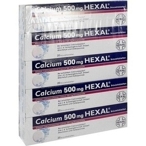 CALCIUM 500 HEXAL Brausetabletten