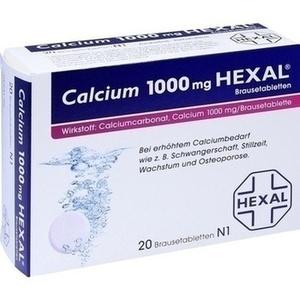 CALCIUM 1000 HEXAL Brausetabletten