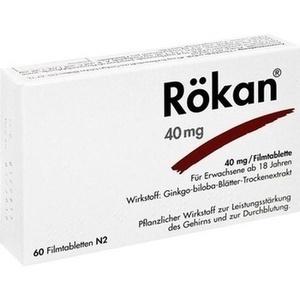 RÖKAN 40 mg Filmtabletten