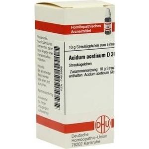 ACIDUM ACETICUM D 30 Globuli