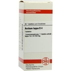 ARCTIUM lappa D 4 Tabletten