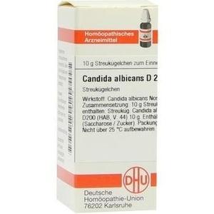 CANDIDA albicans D 200 Globuli