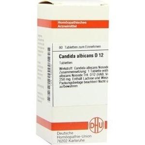 CANDIDA albicans D 12 Tabletten