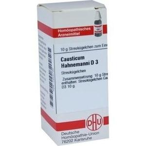 CAUSTICUM HAHNEM D 3