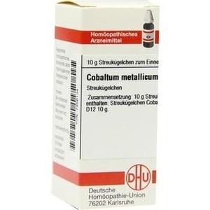 COBALTUM METALLICUM D 12 Globuli