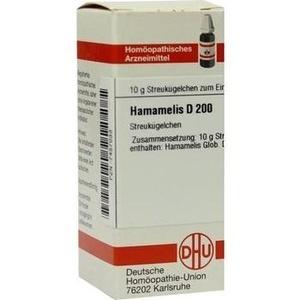HAMAMELIS D 200 Globuli