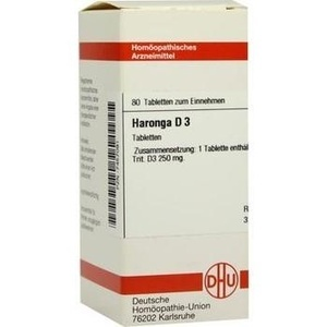 HARONGA D 3 Tabletten