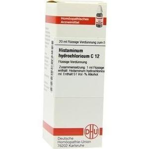 HISTAMINUM hydrochloricum C 12 Dilution