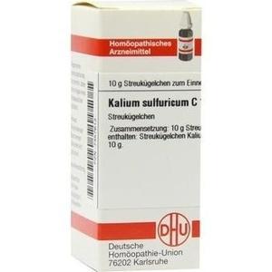 KALIUM SULFURICUM C 12 Globuli