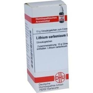 LITHIUM CARBONICUM D 12 Globuli