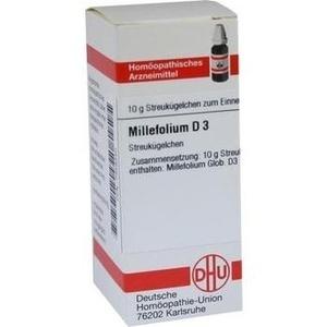 MILLEFOLIUM D 3 Globuli