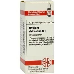 NATRIUM CHLORATUM D 8 Globuli