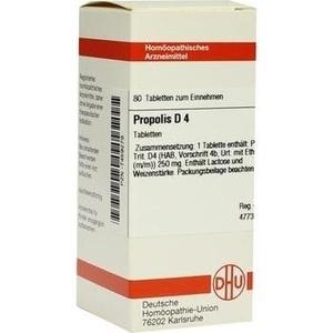 PROPOLIS D 4 Tabletten