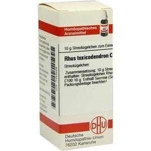 RHUS TOXICODENDRON C 100 Globuli