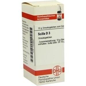 SCILLA D 3 Globuli