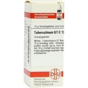 TUBERCULINUM GT C 12 Globuli