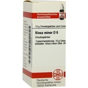 VINCA MINOR D 6 Globuli