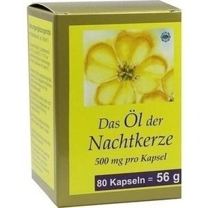 NACHTKERZE ÖL Kapseln 500 mg