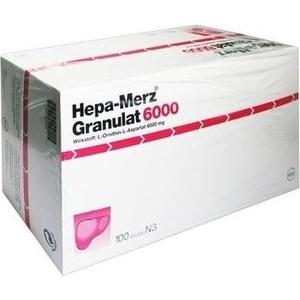 HEPA MERZ Granulat 6.000 Btl.